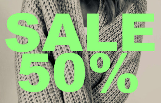 50% Sale bis 13. Januar exclusiv im Hofweg 8 in Hamburg