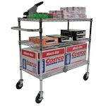 Trinity Ecostorage TM 3-tier Cart, Chrome