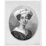 Claire De Duras (1777-1828). /Nn_E Claire Lechat De Kersaint. French Writer And Leader Of Literary Salon. Wood Engraving, 1891. Poster Print by