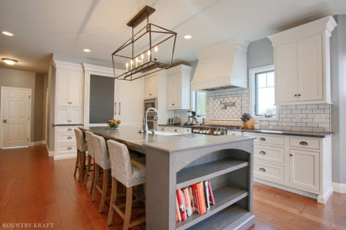 Kitchen Bookshelf Ideas | Kountry Kraft Cabinetry | Newmanstown, PA