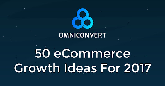 50 Ecommerce Growth Ideas Ebook
