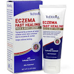 TriDerma Eczema Fast Healing Face And Body Cream (2.2 Oz)