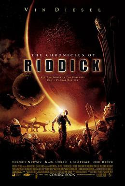 Film poster for The Chronicles of Riddick