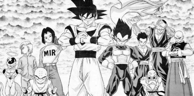 Dragon Ball Super Manga Gohan