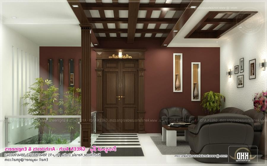 Living Room Middle Class Kerala Indian Home Interior Design