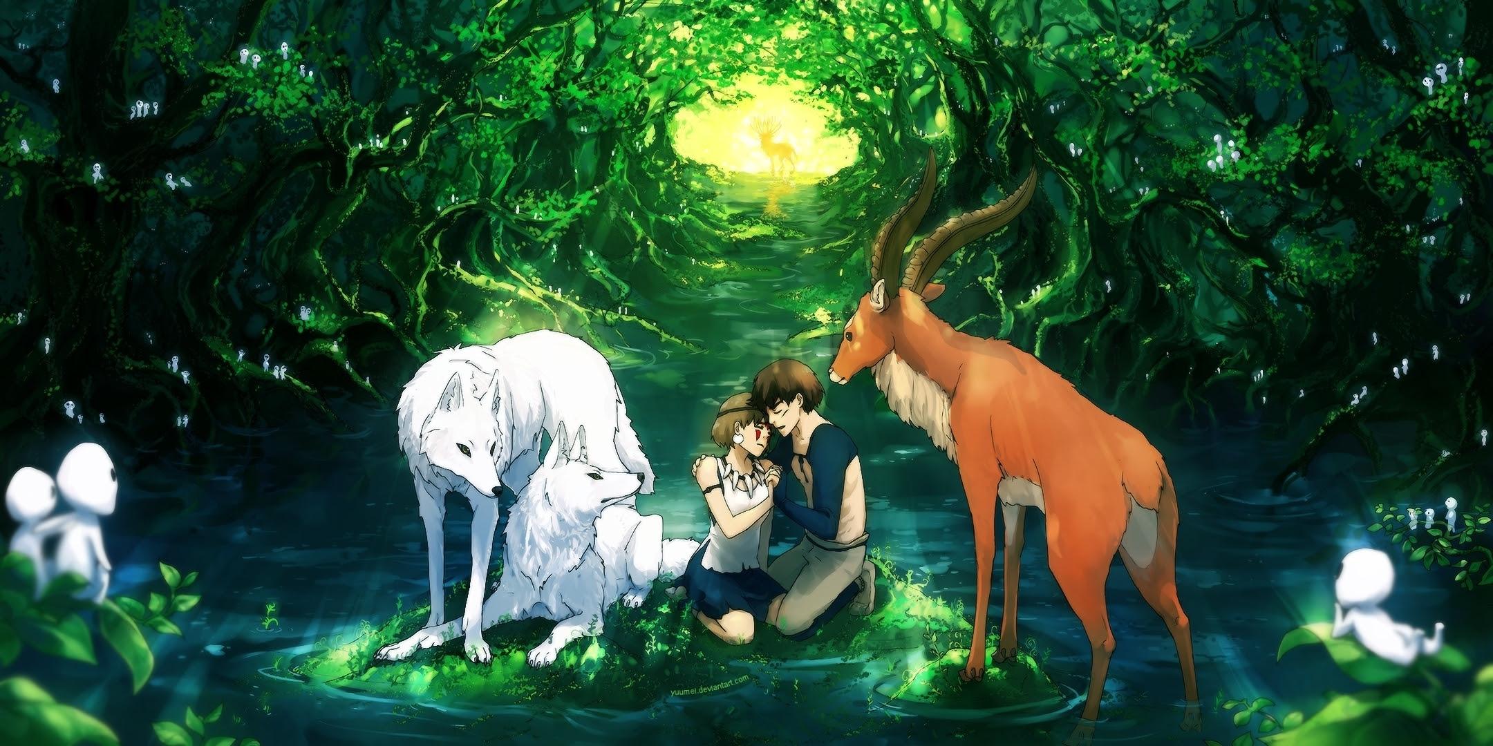 ジブリ もののけ姫の壁紙画像集 Princess Mononoke Wallp