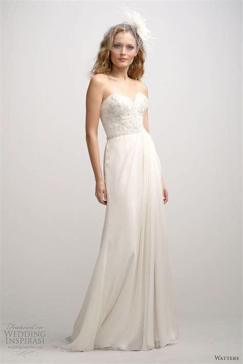 Best 25  Strapless wedding dresses ideas on Pinterest