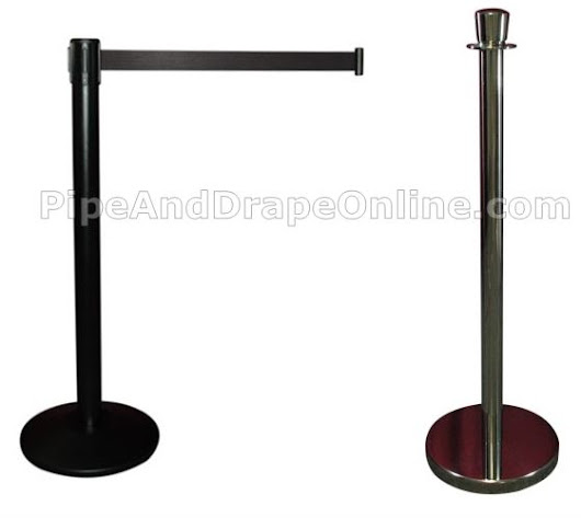 Crowd Control Stanchions | Retractable Belt Stanchion and Lobby Stanchions