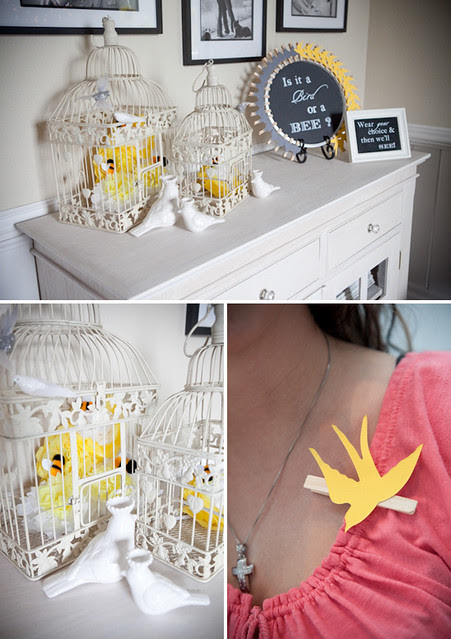 birds-bees-gender-reveal via on to baby