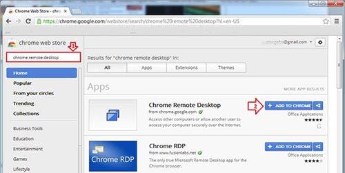 Cách điều khiển máy tính từ xa qua trình duyệt Chrome - 1