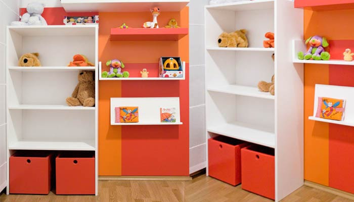 Sistemas de almacenaje para el dormitorio infantil blog y arquitectura - Estanterias guardar juguetes ...
