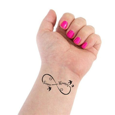 Infinity Tattoo, Wedding Tattoo, Couple Tattoo, Infinity