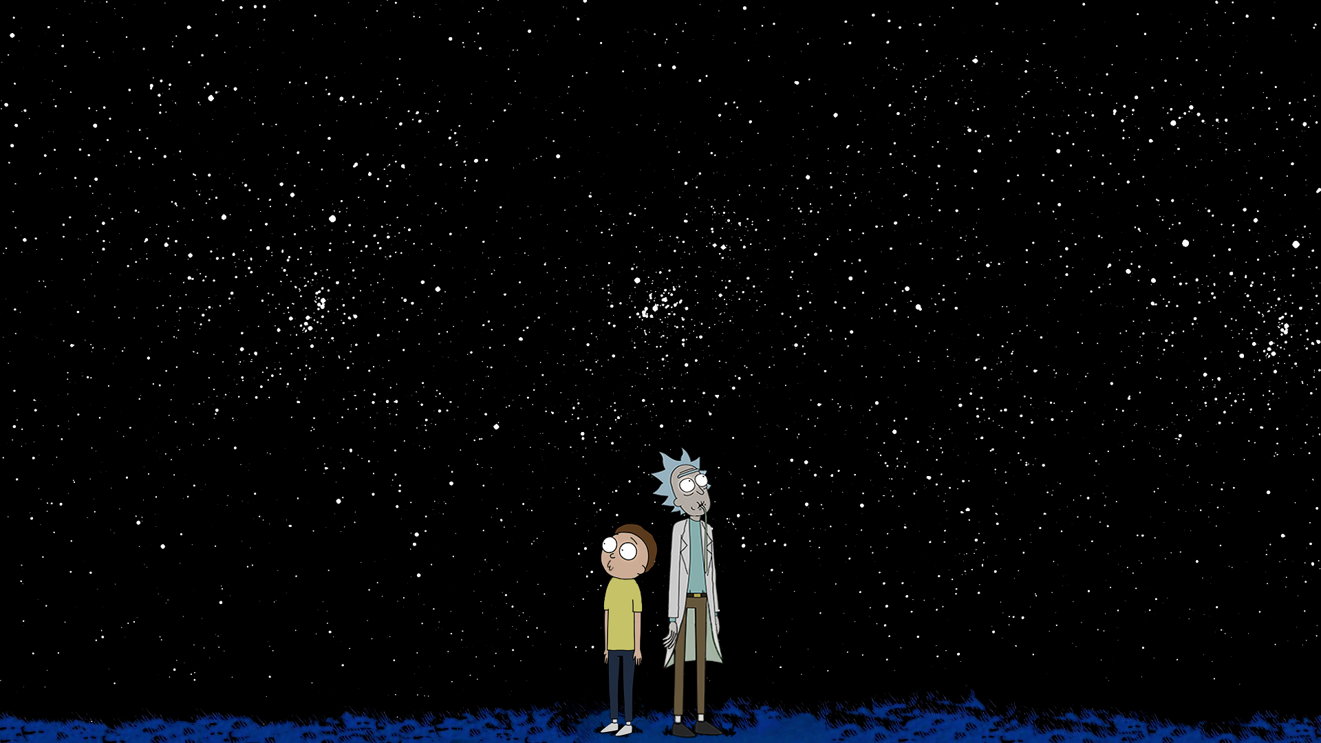 Rick and Morty wallpaper inspired by a resent post : rickandmorty