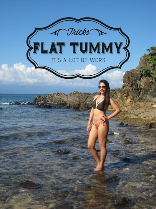 5 Tips for a Flat Tummy (Spoiler alert: It's a lot of work) - Pinay Nomad