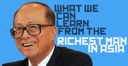 What we can learn from the richest man in Asia