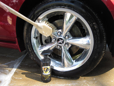 Wheels & Tires Detailing Guide, learn how to safely clean all wheels and protect rubber tires, Tire cleaner, wheel cleaner, wheel brush, tire brush,