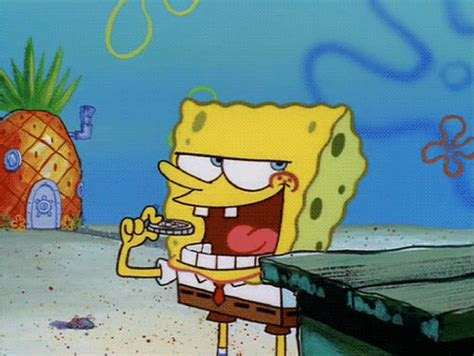 gambar  gambar animasi bergerak lucu spongebob