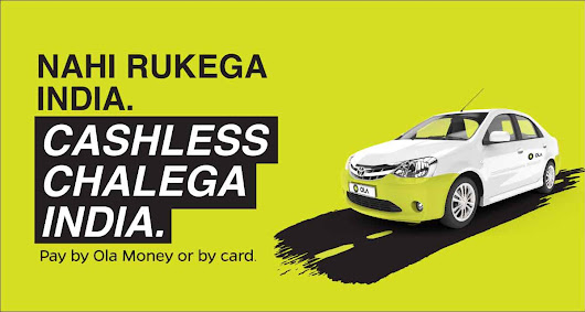 Get flat Rs.50 cashback on 4 cashless rides | Ola Blog