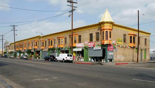 Cast Iron Commercial Building
