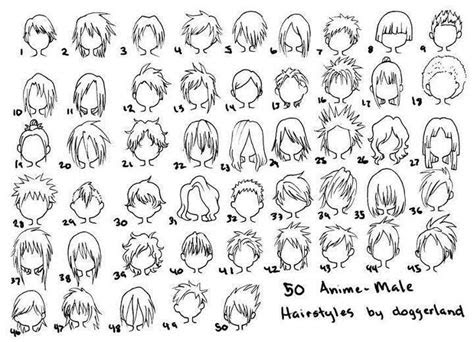 anime male hairstyles drawing ideas drawingpainting