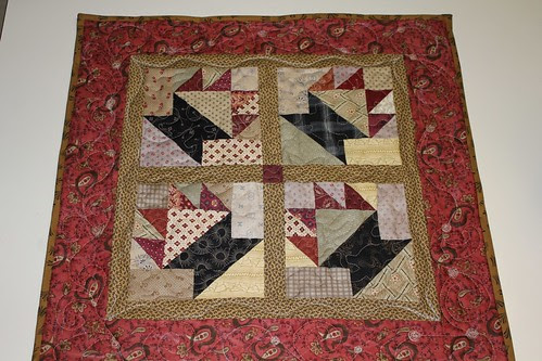 FINISHED BASKET QUILT