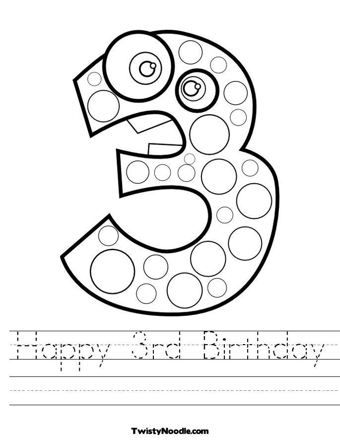 14 Best Images of Preschool Worksheet To Birthday Party ...