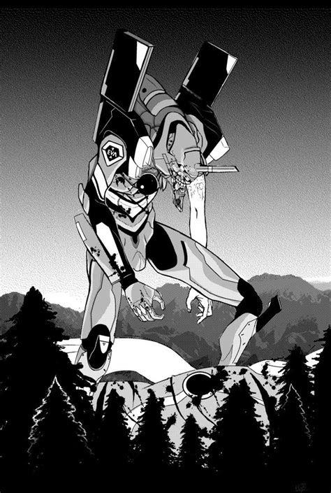 eva unit   theimpossiblelibrary mac manga anime