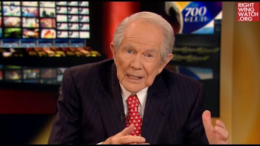 Pat Robertson: People Who Oppose Trump Are Revolting Against God | Right Wing Watch