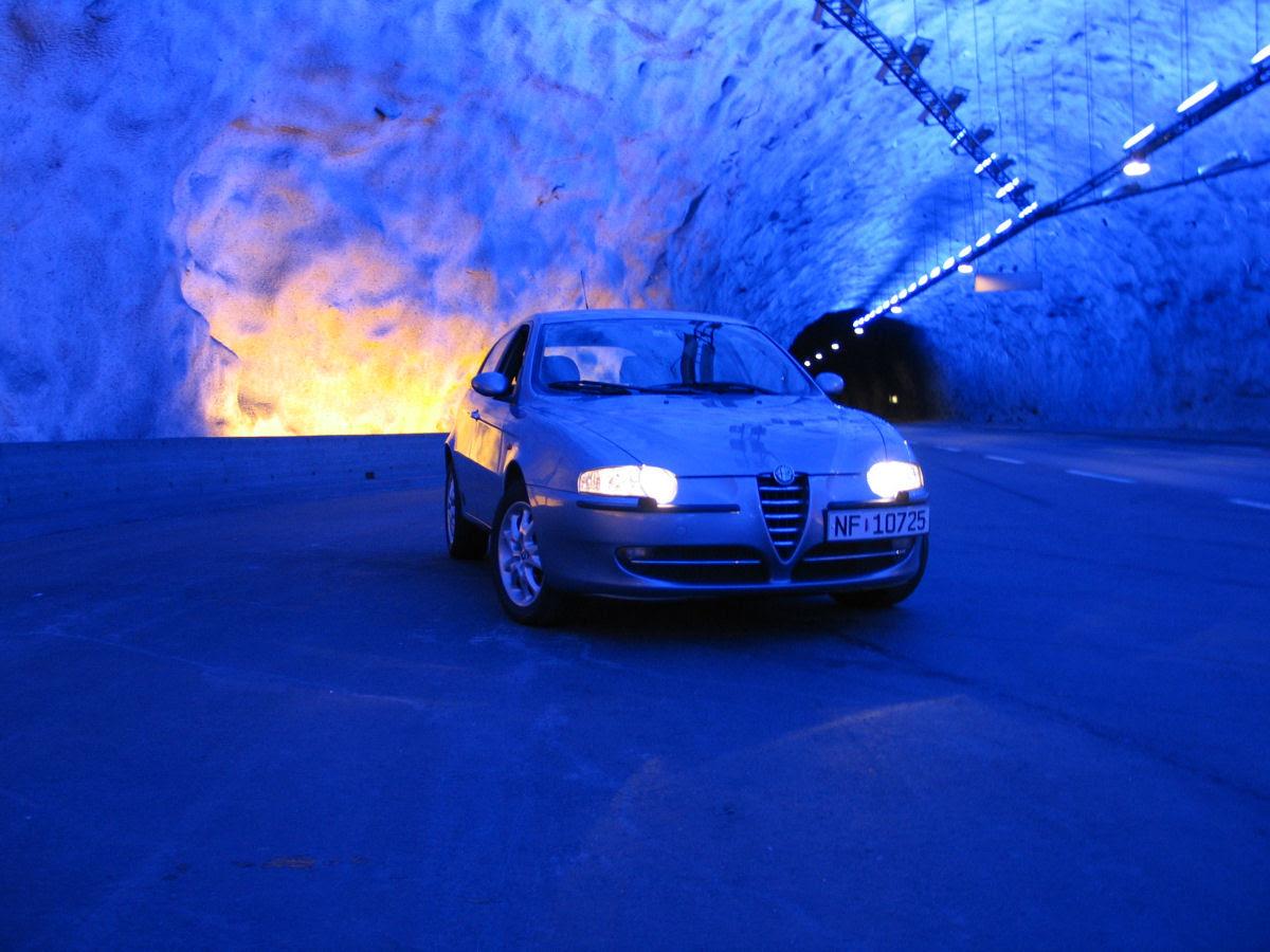 Lærdal Tunnel: o maior túnel rodoviário do mundo 07