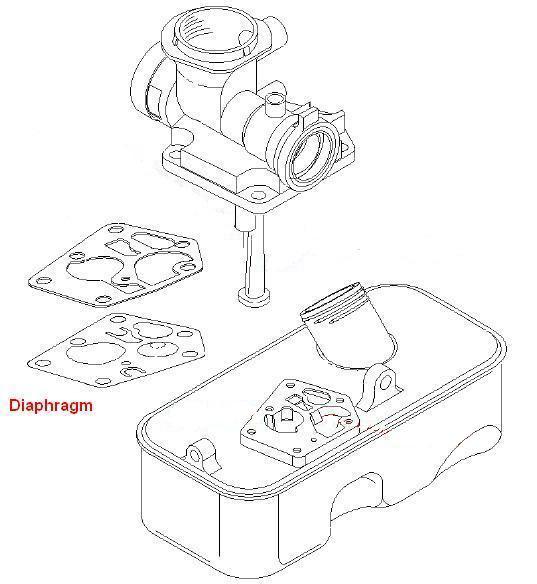 Briggs & Stratton Carburetor Diaphragm Kit