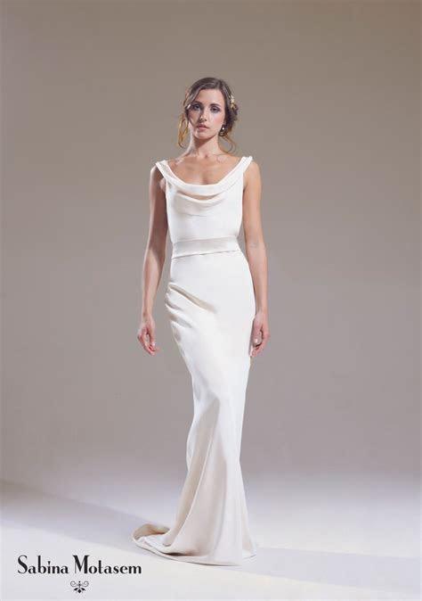 The Josephine dress ? Sabina Motasem. A cowl neck