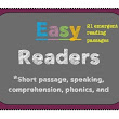ESOL Easy readers-reading comprehension passages great for EL students
