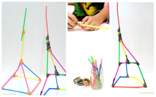 Building with Straws | Simple Engineering Challenge for Kids