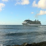 Cruise Ship Off San Juan