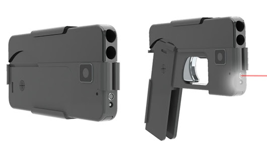 Americans will soon be able to purchase guns that look like smartphones