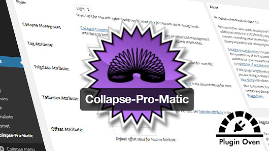 Plugin Oven | Collapse-Pro-Matic v1.2.1