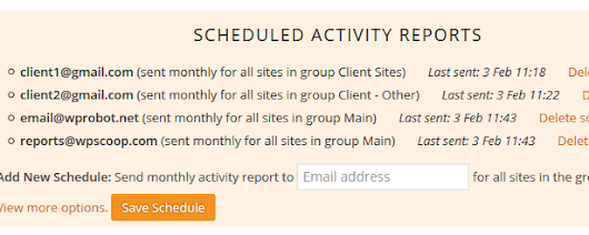 Send Scheduled Activity Reports To Your Clients | CMS Commander