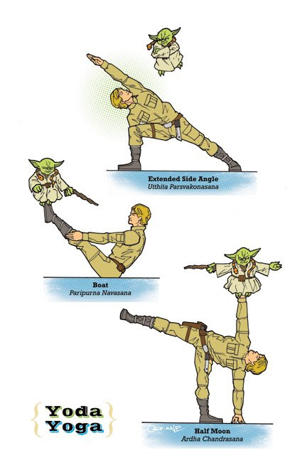 May the 4th be with you – Yoda Yoga?