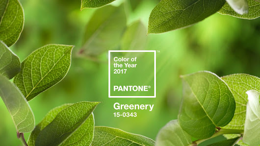 Pantone reveals its Colour of the Year 2017