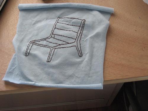 WIP Modern Chair shirt