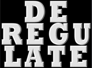 Deregulate-Word