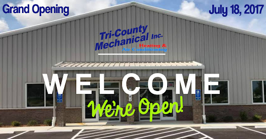 Our New Location | Tri-County Mechanical Inc.