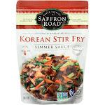 Saffron Road Simmer Sauce - Korean Stir Fry - 7 Ounce -PACK 8