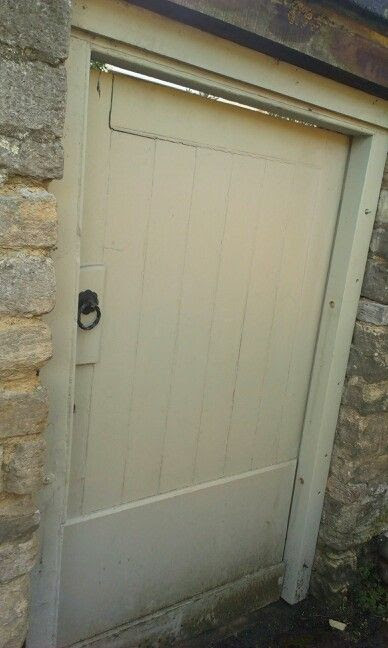 Farrow and Ball French Gray exterior paint door