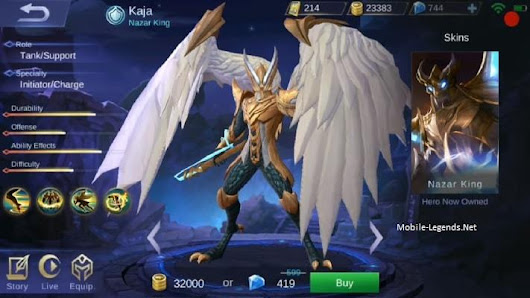 Kaja Features | Mobile Legends