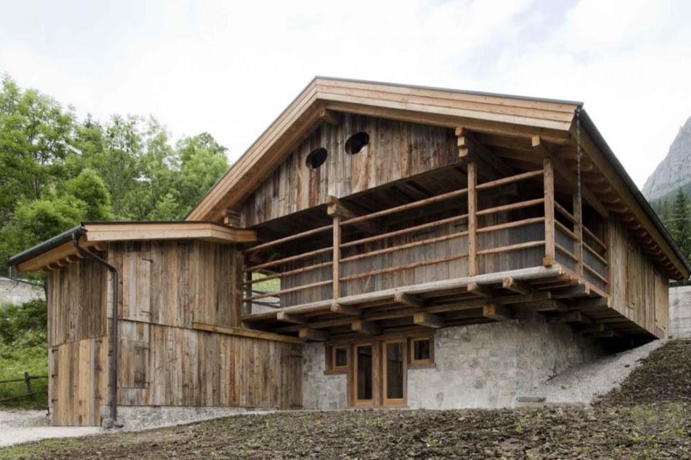 Granero en los Alpes - EXiT architetti associati