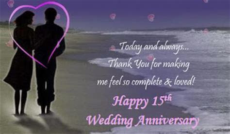 15th Wedding Anniversary Poems Pictures to Pin on