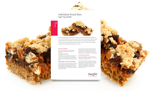 Individual Snack Bars | Eagle Product Inspection