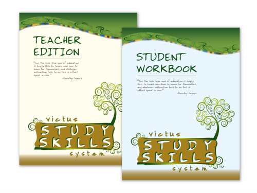 Victus Study Skills student and teacher book