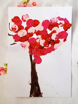 Scrumdilly Do valentine trees